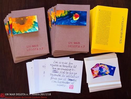 Un mar degota n. 7, revista d'autor de Ferran Cerdans Serra