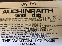 Auchinraith Social club