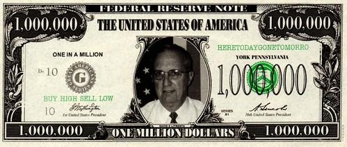 Litrenta Million Dollar note front