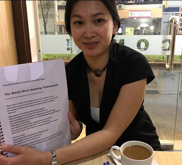 Ling Chin Li from Switzerland