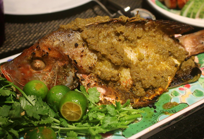 Oven-baked Snapper with Sambal Hijau