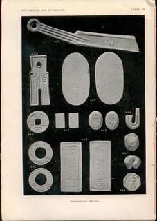 1930 German numismatic dictionary Worterbuch der Munzkunde plate of plaster casts1