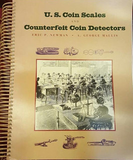 US Coin Scales & Counterfeit Detectors book cover