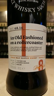 SMWS 68.14 - An Old Fashioned on a rollercoaster
