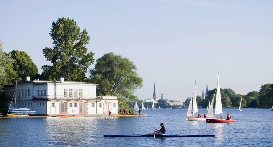 Zomer in Hamburg: fietsen en varen in Hamburg | Mooistestedentrips.nl