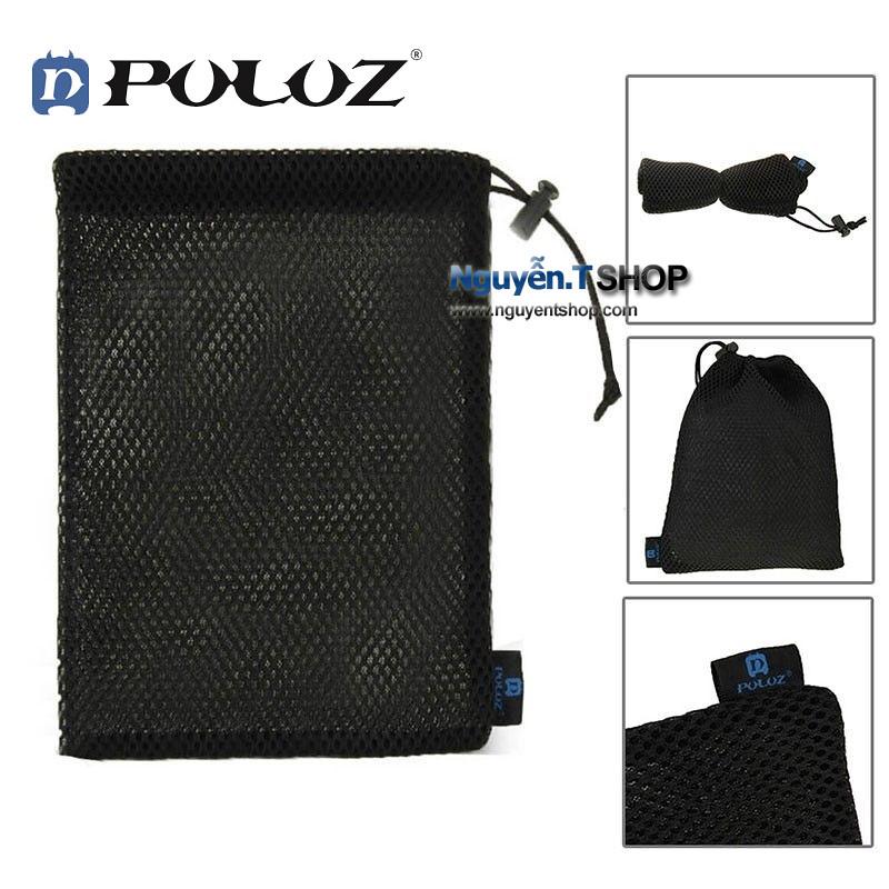 Túi đựng phụ kiện cho GoPro Hero lưới đệm chống sốc thoáng khí hãng PULUZ