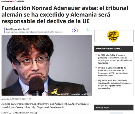 18d11 Fundación Konrad Adenauer avisa El tribunal alemán se ha excedido y Alemania será responsable del declive de la UE Uti 465