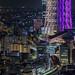 Tokyo Skytree with Trains by kbaranowski