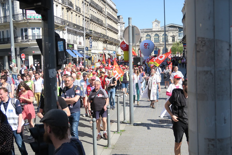 manif unitaire Lille 19 avril