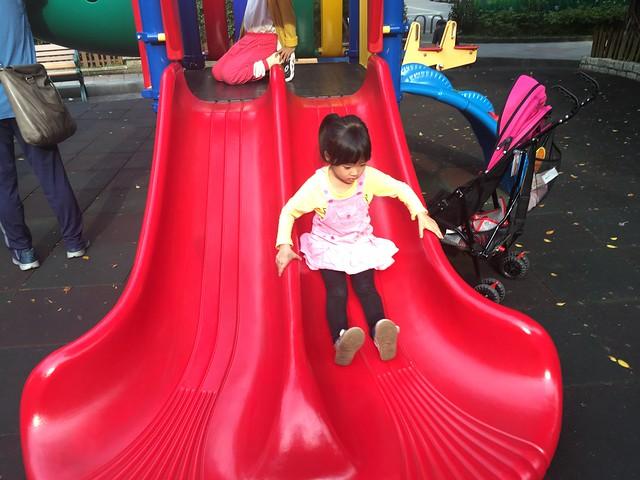 開完會在公園玩