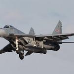 21, Mikoyan Gurewitsch MiG-29A Hungarian Air Force @ Kecskemet LHKE