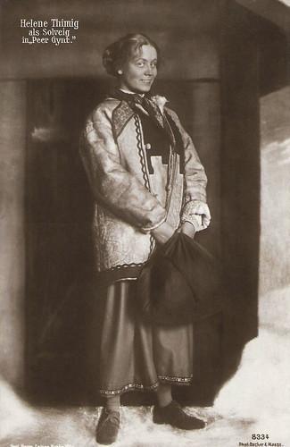 Helene Thimig in Peer Gynt (1914)