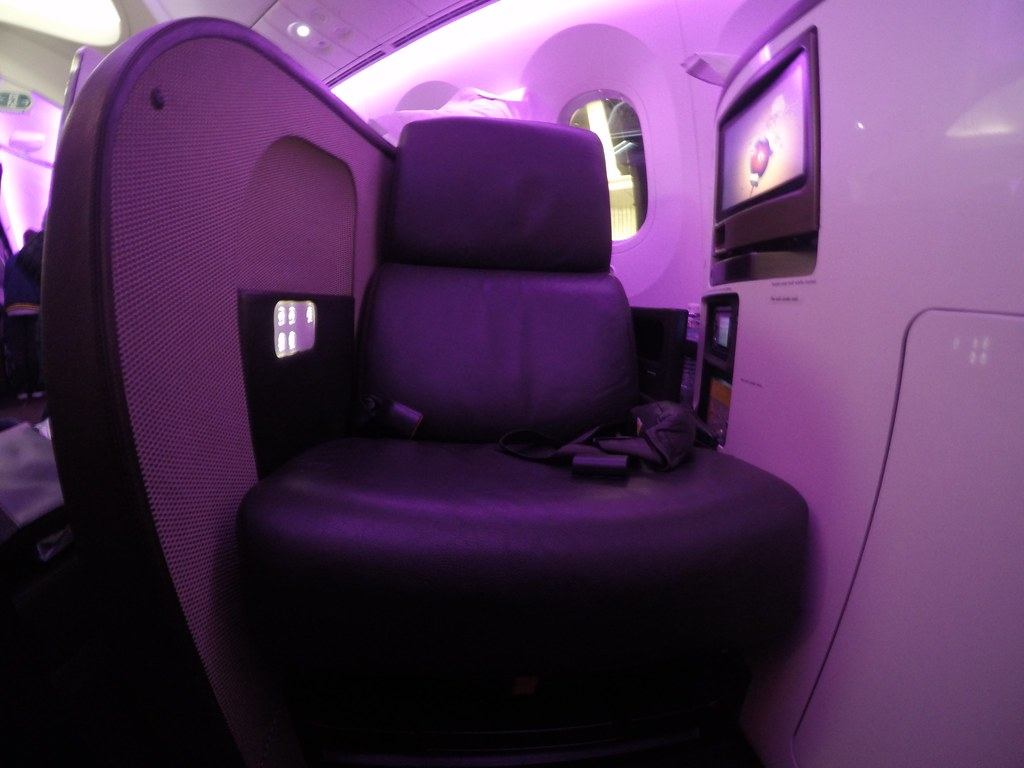 Virgin Atlantic Upper Class 8