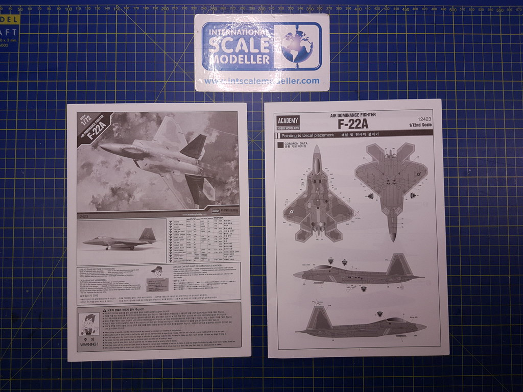 Academy 1/72 F-22A Air Dominance Fighter 26072689227_f880b92eed_b