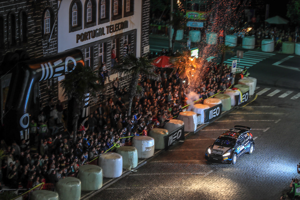 during the 2018 European Rally Championship ERC Azores rally,  from March 22 to 24, at Ponta Delgada Portugal - Photo Jorge Cunha / DPPI
