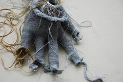 Tzedakah (charity) Glove, Sjnoder Glove, detail