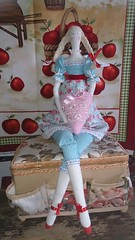 Рязанцева Татьяна Петровна - Интерьерная текстильная кукла Тильда по мотивам норвежского дизайнера Тоне Финнангер