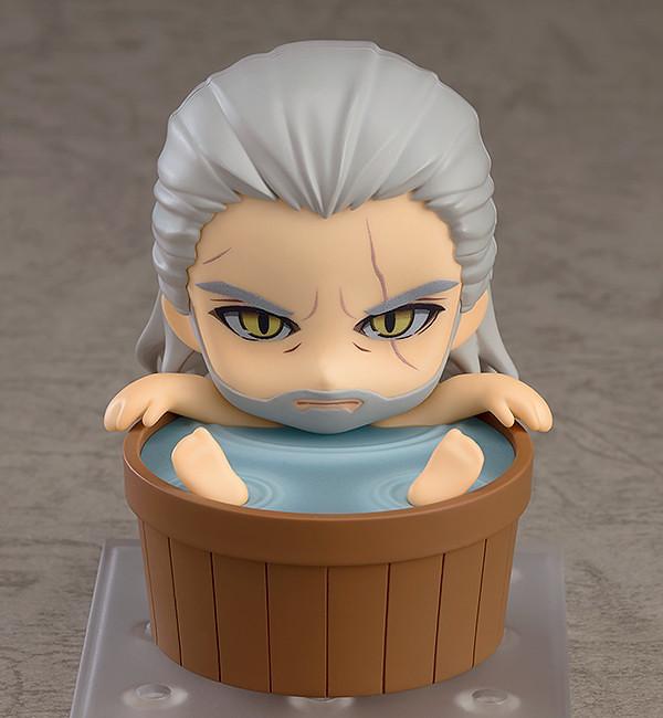【更新官圖&販售資訊】黏土人《巫師 3:狂獵》利維亞的傑洛特 ねんどろいど ゲラルト(Geralt of Rivia)