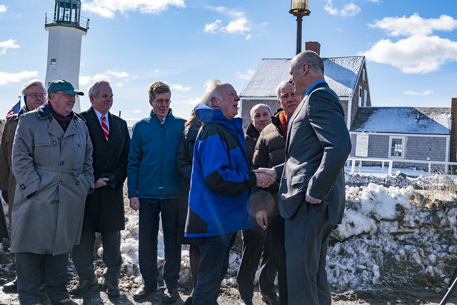 Environmental Bond Bill Announcement in Scituate 03.15.18