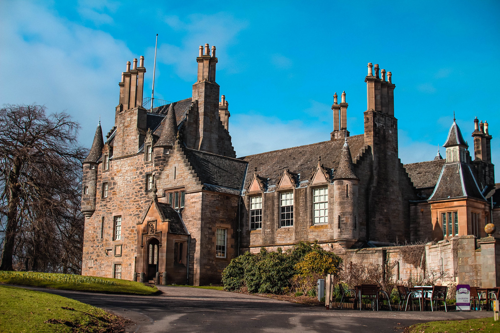 Scottish Lauriston Castle Edinburgh travel lifestyle blogger The Little Things 1