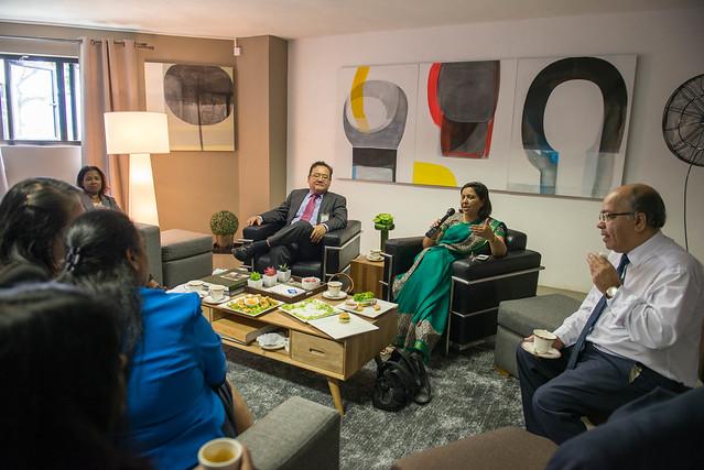 H.E Ban Ki-Moon State Visit to Mauritius