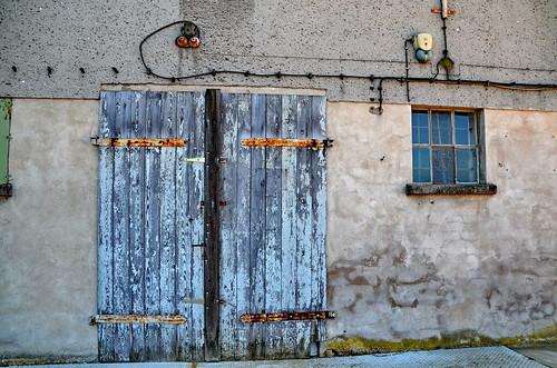 Tür in Ueckermünde