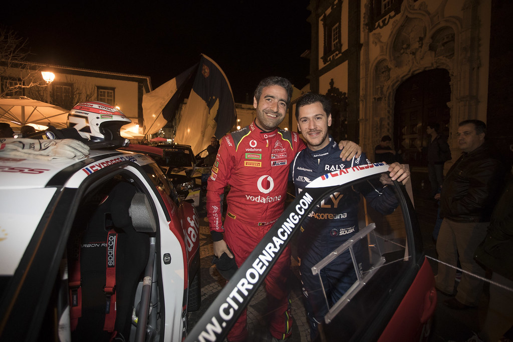 30 FONTES Jose Pedro (prt), BABO Paulo (prt), CITROEN VODAFONE TEAM, CITROEN DS3 R5, portrait 31 SOUSA Bernardo (prt), CARDOSO Walter (prt), RALY AUTOAÇOREANA RACING, CITROEN DS3 R5, portrait during the 2018 European Rally Championship ERC Azores rally,  from March 22 to 24, at Ponta Delgada Portugal - Photo Gregory Lenormand / DPPI