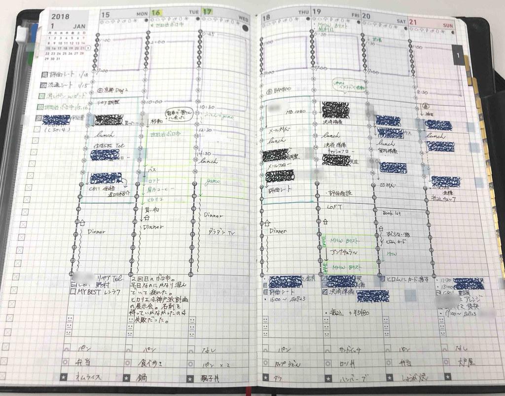 ジブン手帳ウィークリー