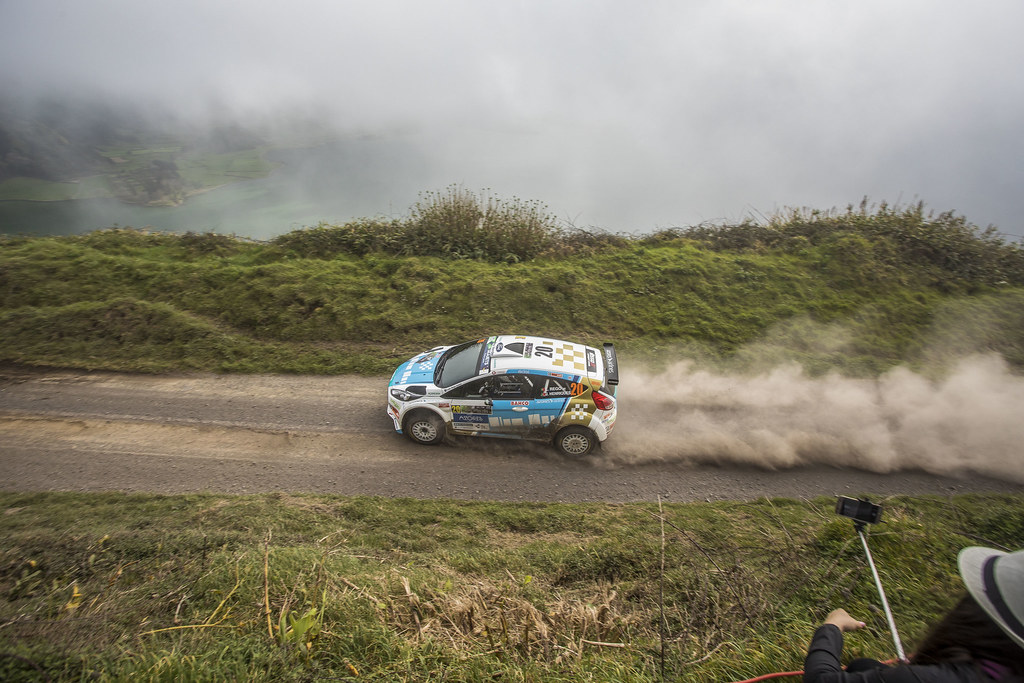 20 REGO Luis Miguel (prt), HENRIQUES jorge( (prt), FORD FIESTA R5 , actionN20  during the 2018 European Rally Championship ERC Azores rally,  from March 22 to 24, at Ponta Delgada Portugal - Photo Gregory Lenormand / DPPI