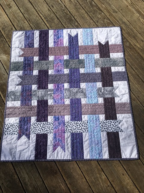Cloud 9 Ribbon Box Quilt
