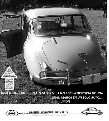 Auto Union1965 en autohistoria expoautoargentino 2018