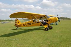 G-LCUB Piper L-18-C95 (18-1631) Popham 100509