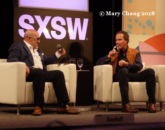 Aryeh Bourkoff and Daniel Glass Thursday at SXSW 2018