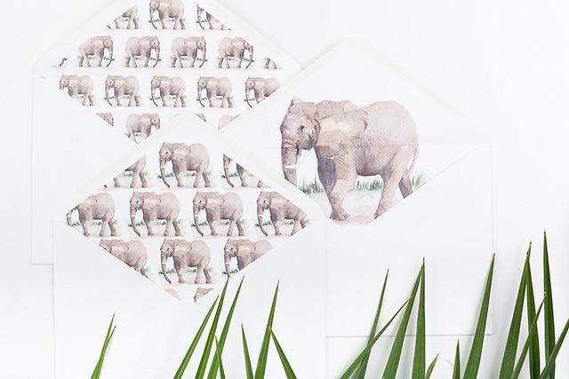 Invitaciones acuarela safari Micrapelbodas 11