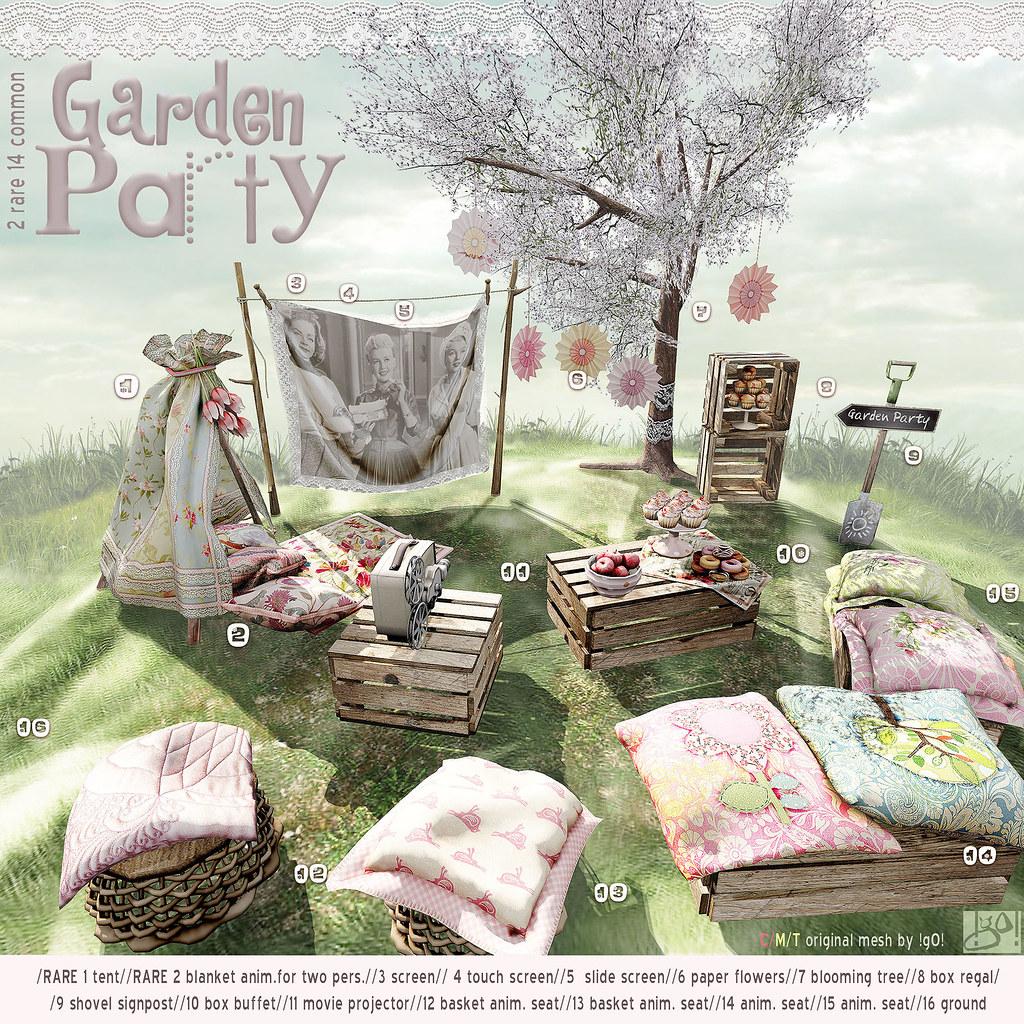 !gO! Garden Party - Gacha Key - TeleportHub.com Live!