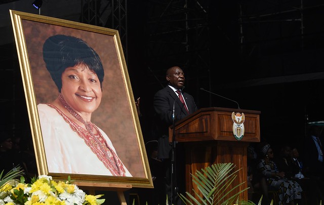 Special Official Funeral service for the late Winnie Madikizela-Mandela