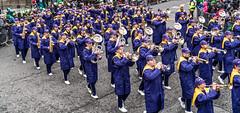 Jackson High School - Purple Army Marching Band [Dublin Patricks Day Parade 2018]-137642