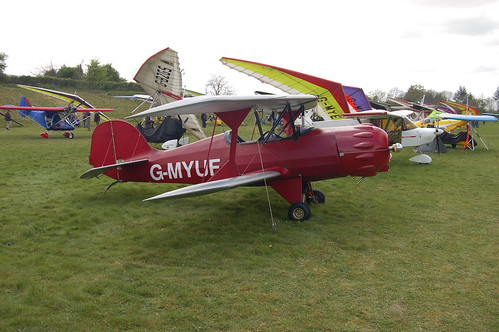 G-MYUF Murphy Renegade Spirit UK [PFA 188-12795] Popham 020509