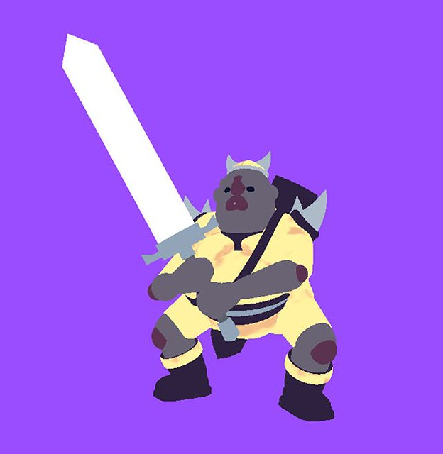 Flat color screenie. . #WIP #COMINGsoon #SWORD