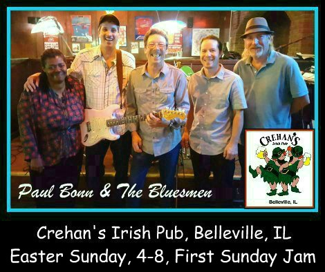 Paul Bonn & The Bluesmen 4-1-18