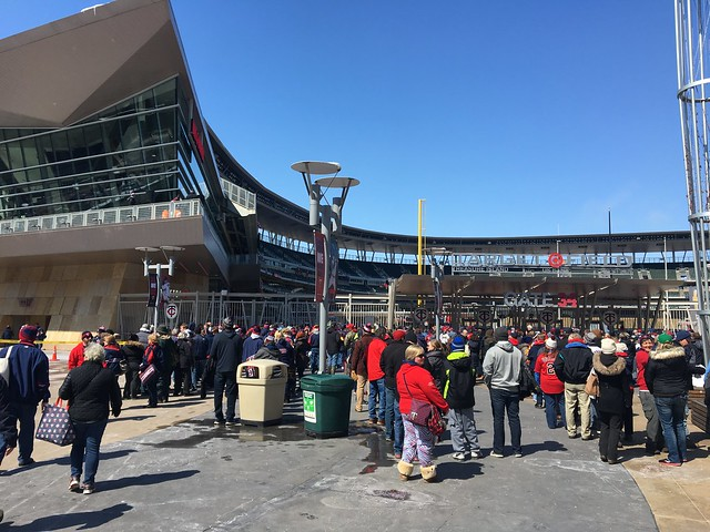 Twins home opener 2018