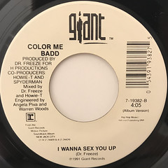 COLOR ME BADD:I WANNA SEX YOU UP(LABEL SIDE-B)