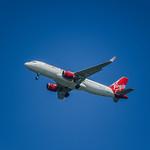 virgin america flight 1273 arriving from puerto vallarta