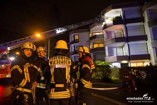 Wohnungsbrand Freseniusstraße 16.03.18