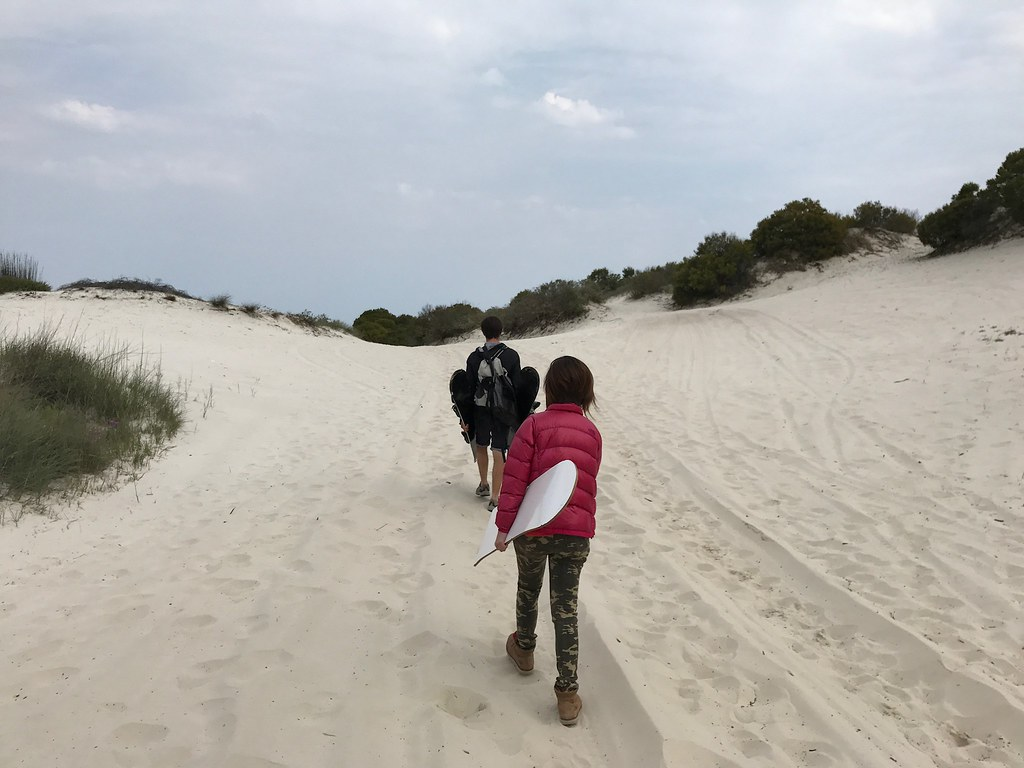 South Africa Cape Town Sandboarding
