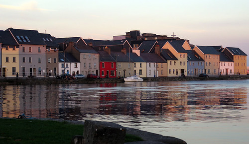 Evening in Galway, Ireland