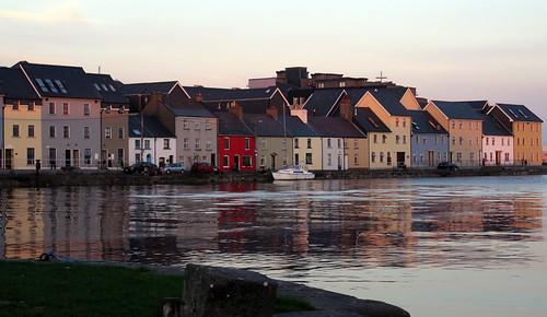 Evening in Galway, Ireland