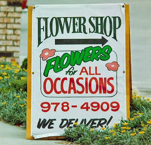Flower Shop A-Frame