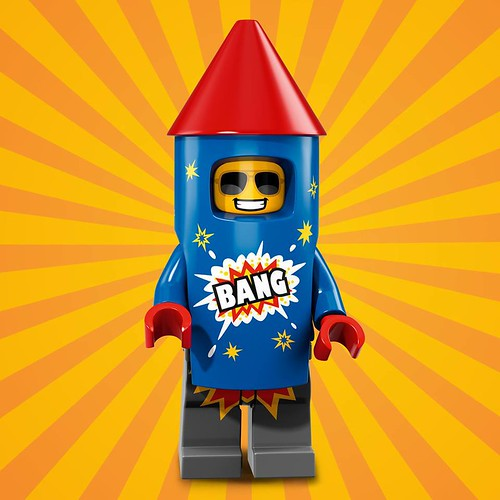 LEGO-71021-Collectible-Minifigures-Series-18-06 Fireworks Guy