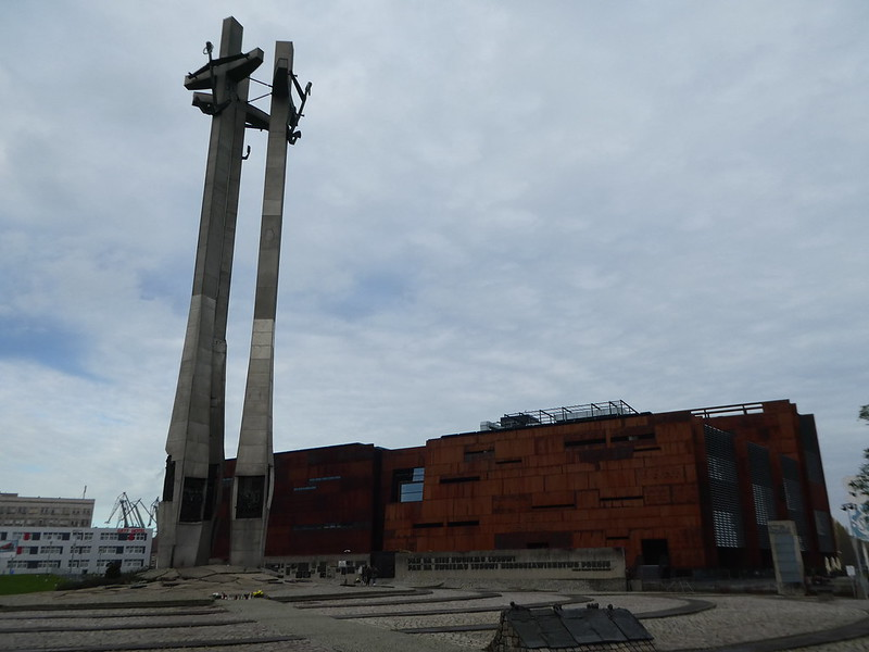 The Monument to the Fallen, Gdansk Shipyard